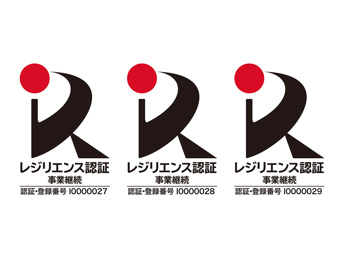 BIJOUPIKO GROUPの株式会社G・T・B・T、株式会社ジュエリーピコ、株式会社 PIKOが「レジリエンス認証」を取得!